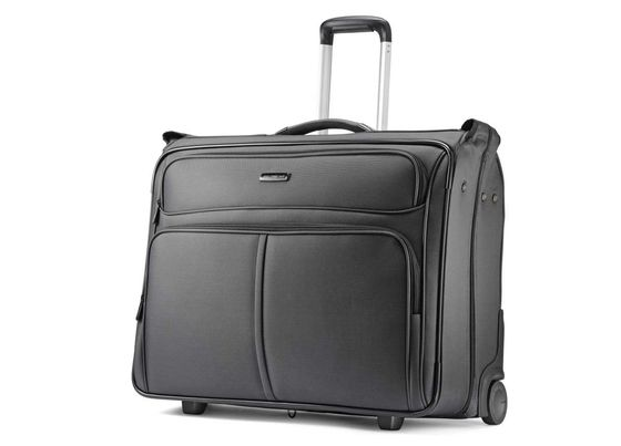 Leverage Wheeled Garment Bag In Black