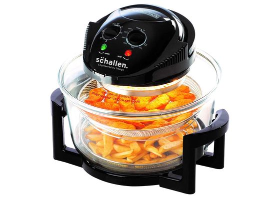 Halogen Oven With Hinged Lid