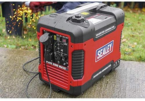 Inverter 2Kw Generator In Red And Black