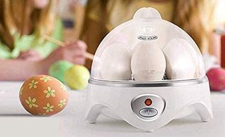 White Electric Egg Cooker
