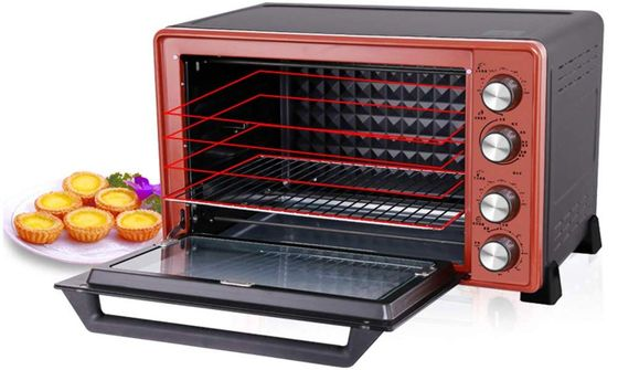 Turbo Convection Oven With Red Exterior