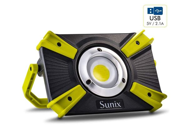 Rechargeable Site Light With Yellow Exterior