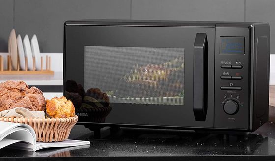 Combination Microwave Convection Oven In All Black