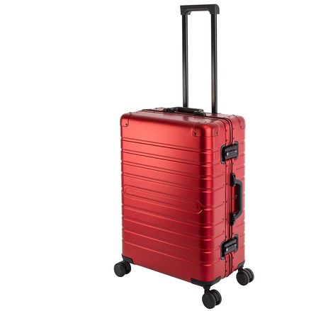 Lightweight Suitcases 4 Wheels In Blue And Yellow