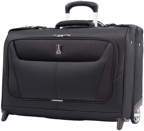 Suit Bag Carry On Luggage In Black