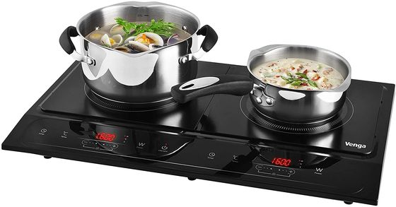 Plug-In Induction Hob With 2 Zones