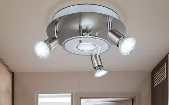 Smart Chrome LED Ceiling Spot Lights