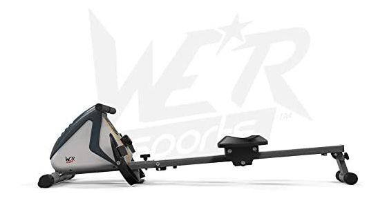 Fold Away Rowing Machine In Black