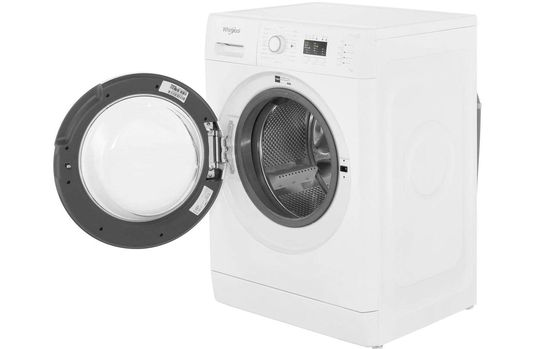 Washing Machine With Black LCD Screen