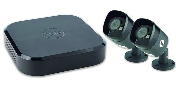 Smart Security Camera CCTV In All Black
