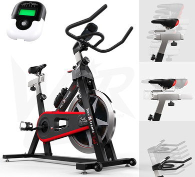 Cross Trainer For Home In Black, Red