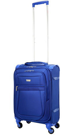 Travel Holdall With Wheels In All Blue