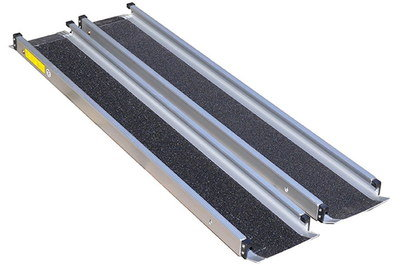 6 Foot Channel Ramps For Scooters With Steel Safety Edges