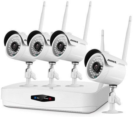 Smooth White IP CCTV System
