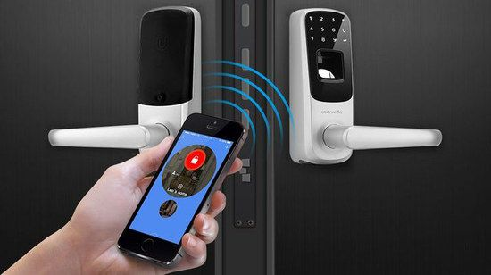 Electronic Lock With Smartphone