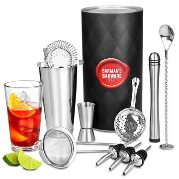 Gift Cocktail Making Set With Steel Spoon