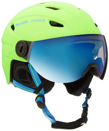 Ski Helmet In Blue And Yellow