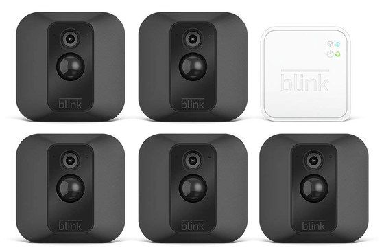 Home Camera System In Black And White