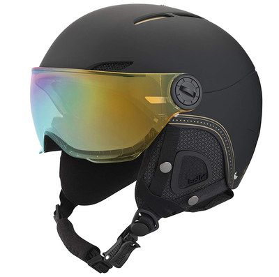 Ladies Ski Helmet With Black Strap