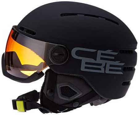 Lightweight Ski Helmet In Black Layer