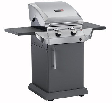 TRU Infra-Red Stainless Steel Charcoal BBQ With Front Dials