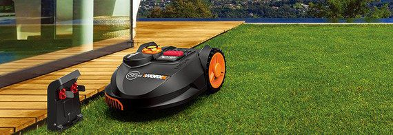 Robot Mower With Boundary Wire