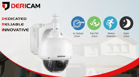 Wireless PTZ Cam With Bracket