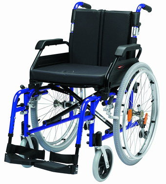 Wheelchair For Sale With Blue Frame