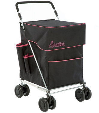 Large 4 Wheeled Shopping Trolley Box Shaped