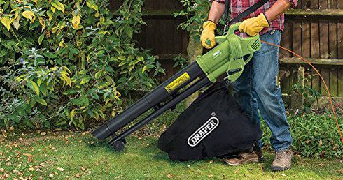 Draper Garden Vac With Black Bag