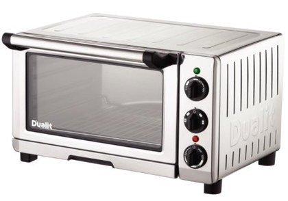 Mini Convection Oven In Refined Chrome Finish