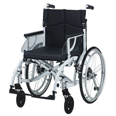 Self Propel Fold Up Wheelchair With Side Panels