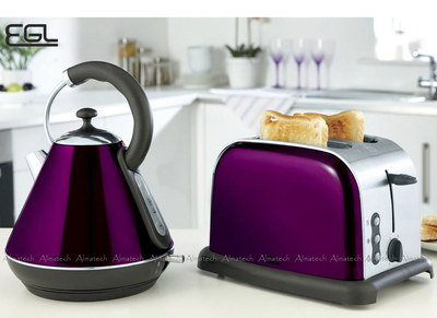 Best Kettle Amp Toaster Sets Uk In Red Green Purple Blue