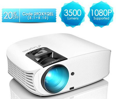 LCD Projector With White Exterior