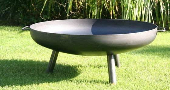 Garden Fire Pit Bowl With 2 Grips
