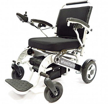 Power Wheelchair With Big Front Foot Rest