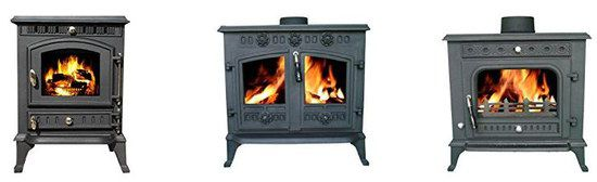 Cast-Iron Multifuel Wood Burners