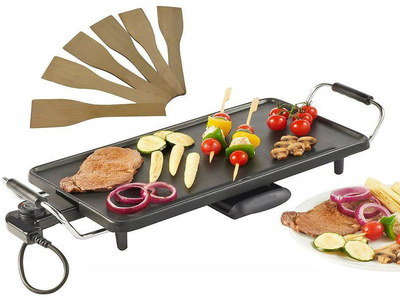 Big Electric Teppanyaki Grill On 4 Legs