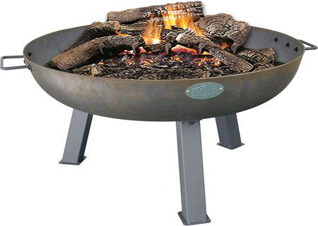 Garden Fire Pit With Hand Grips