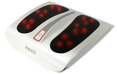 Shiatsu Feet Warmer Massager In All White