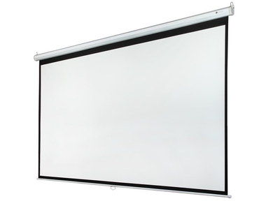 Projector Screen With Black Border