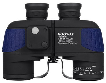 Waterproof Military Binoculars In Black And Blue