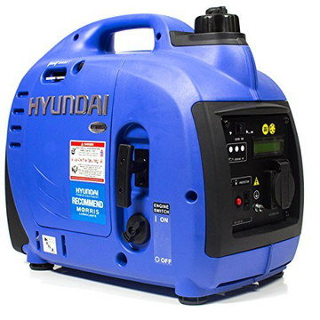 Small Mobile Inverter Generator In All Blue