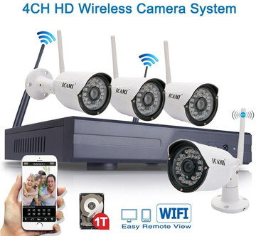 Home Security System CCTV With Black Box