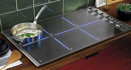 Induction Hob With Sensor Element