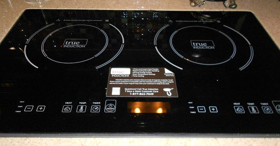 2 Ring Induction Hob