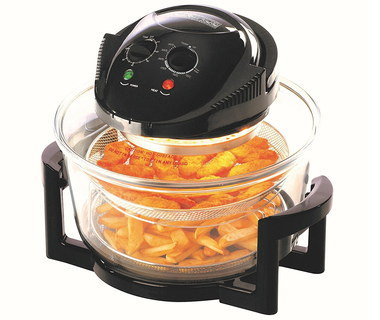 Big 17L Halogen Oven In Black Finish