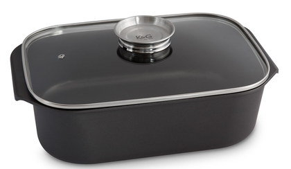 Roasting Pan With Lid And Handles