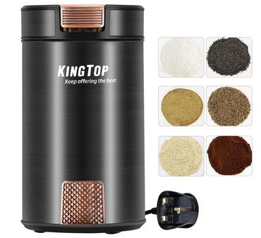 Seed Nut Spice Blender With Rounded Black Base