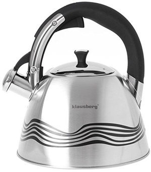 Induction Whistling Kettle With Black Handle